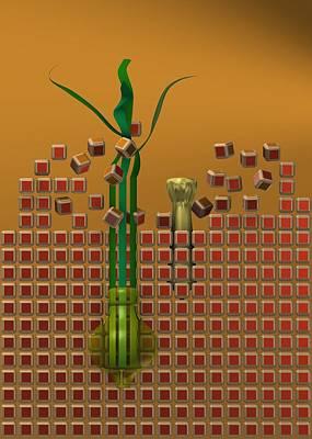 Glass Digital Art - Broken The Wall by Alberto RuiZ