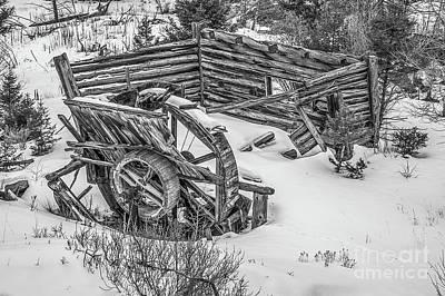 Photograph - Broken Water Wheel by Sue Smith