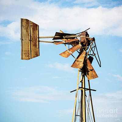 Photograph - Broken Windmill by Imagery by Charly
