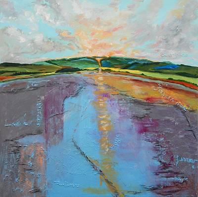 Painting - Broken Words by Sue Furrow