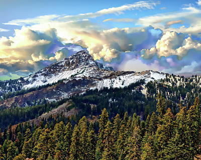 Photograph - Brokeoff Mountain Scenic by Anthony Dezenzio