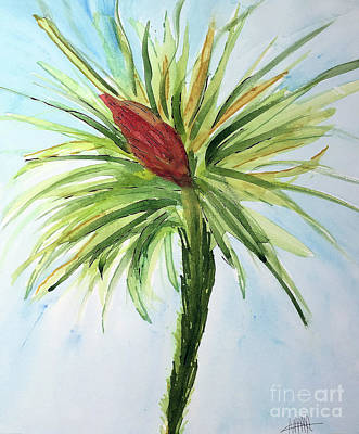 Painting - Bromelaid No. 4 by Maura Satchell