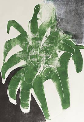 Bromeliad Art Print by Jacklyn Friedman