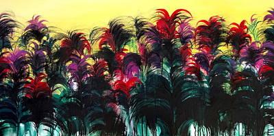 Bromeliads  Original by Erica Seckinger
