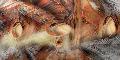Free Form Digital Art - Bromine by Steve Sperry