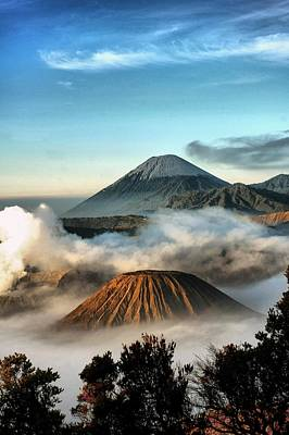 Digital Imaging Photograph - Bromo Mountains by Mario Bennet