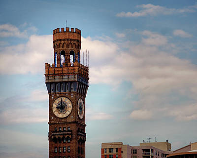 Photograph - Bromo Seltzer Arts Tower In Baltimore by Bill Swartwout Fine Art Photography