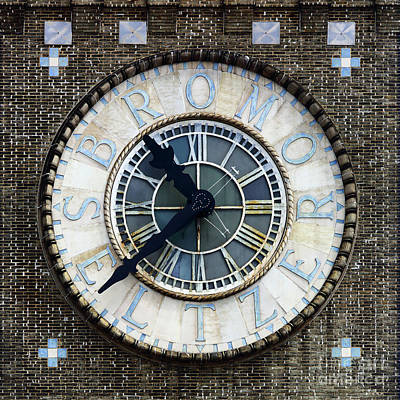 Photograph - Bromo-seltzer Tower Clock Baltimore by James Brunker