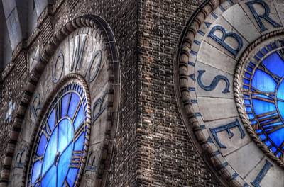 Baltimore Photograph - Bromo Seltzer Tower Clock Face #2 by Marianna Mills
