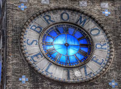 Photograph - Bromo Seltzer Tower Clock Face #4 by Marianna Mills