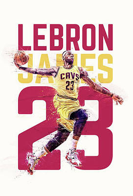 Lebron Drawing - Bronbron by Jeric Barnutz
