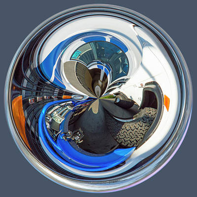 Photograph - Bronco Orb by Brent Dolliver