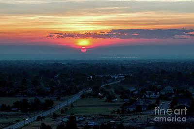 Photograph - Bronco Sunsrise by Jon Burch Photography