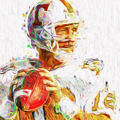 Fineartamerica Wall Art - Photograph - @broncos @peyton__manning__18 by David Haskett II