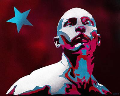 Fury Mixed Media - Anti Hero Bronson by Surj LA
