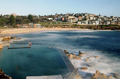 Photograph - Bronte Baths by Nicholas Blackwell