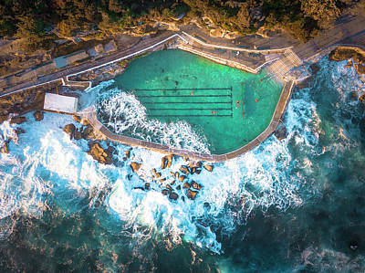 Photograph - Bronte Beach Pool by Evgeny Vasenev