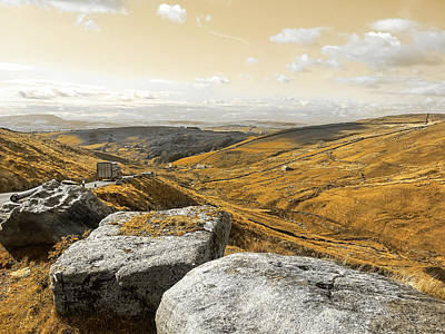Photograph - Bronte Country Rolling Hills by Menega Sabidussi