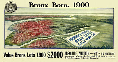 Photograph - Bronx 1900 by Andrew Fare
