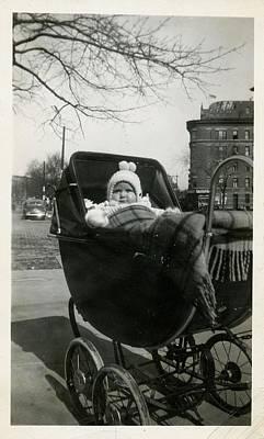 Winter Photograph - Bronx Baby Circa 1940 by JAMART Photography