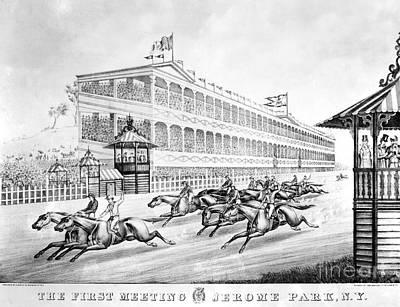Bronx: Horse Race, 1866 Print by Granger
