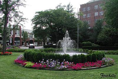 Photograph - Bronxville Fountain by Fran Kelly