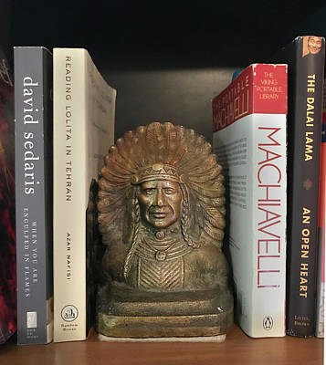 Sculpture - Bronze Bookend by Ed Meredith
