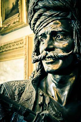 Bronze Bust - The Golden Age Art Print