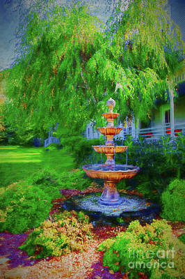 Photograph - Bronze Fountain Perspective by Rick Bragan
