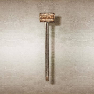 Photograph - Bronze Hammer by YoPedro