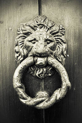 Photograph - Bronze Knocker by Stewart Scott
