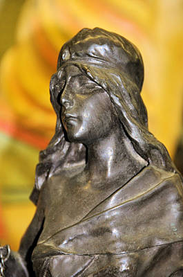 Photograph - Bronze Maiden by Jan Amiss Photography