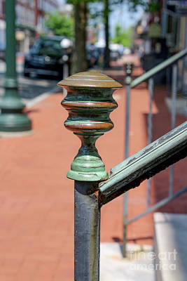 Photograph - Bronze Patina Finial by Sandy Moulder