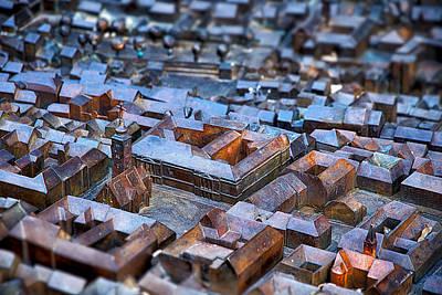 Photograph - Bronze Scale Model - Zagreb Croatia by Stuart Litoff