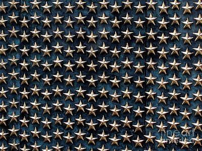 Bronze Stars Art Print by Steve Grisham