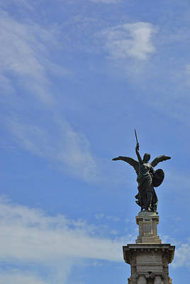 Photograph - Bronzed Angel by JAMART Photography