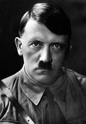 Brooding Portrait Of Adolf Hitler Heinrich Hoffman Photo Circa 1935 Art Print