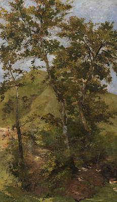 Italian Landscapes Painting - Brook by Bartolomeo Bezzi