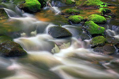 Photograph - Brook Below Garwin Falls by Rick Berk