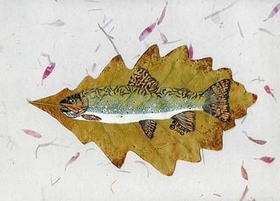 Brook Trout Art Print by Ralph Root
