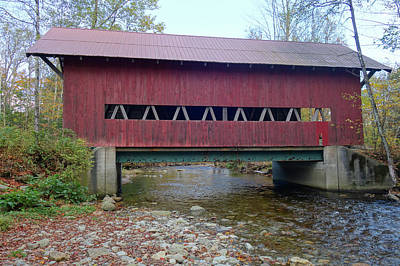 Photograph - Brookdale Covered Bridge by Dan Sproul