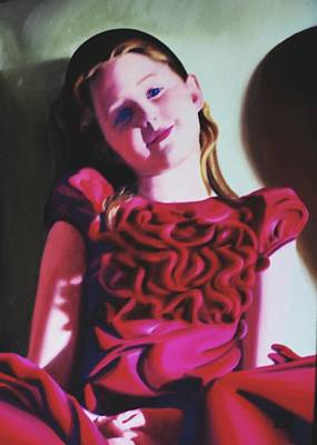 Painting - Brooke by David Rodman Johnson
