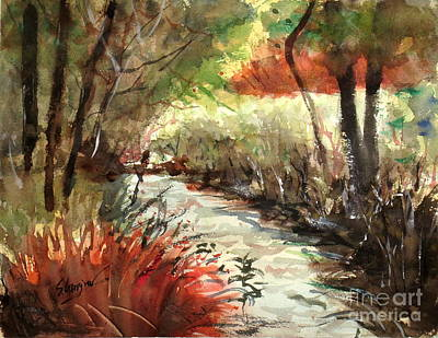 Painting - Brookfield Creek #2 by Sof Georgiou