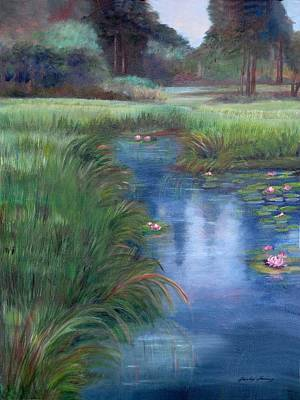 Painting - Brookgreen Meadows by Shirley Lawing