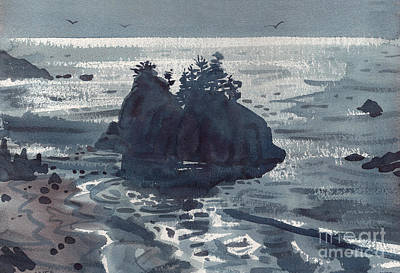 Painting - Brookings Coast by Donald Maier