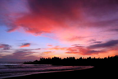 Photograph - Brookings Oregon Sunset 05 by Larry Bacon