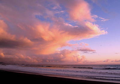 Photograph - Brookings Oregon Sunset #07 by Larry Bacon