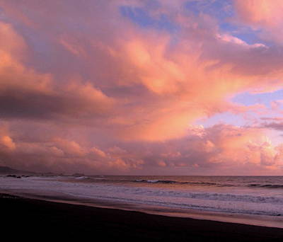 Photograph - Brookings Oregon Sunset #08 by Larry Bacon