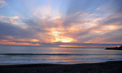 Photograph - Brookings Oregon Sunset by Larry Bacon