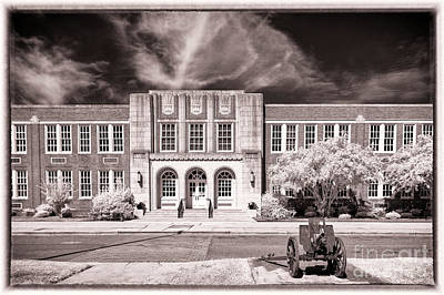 Photograph - Brookland - Cayce H S by Charles Hite